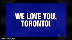 WATCH: 'We Love You, Toronto!' category featured on 'Jeopardy' | Globalnews.ca