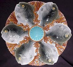 I want an (or lots of) oyster plate(s) SO badly. Any that I have seen have been very expensive. :(