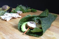 Dehydrator Spinach Wraps - Feasting on Fruit
