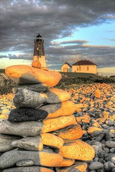 Point Judith Lighthouse - Rhode Island