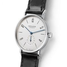 NOMOS - Tangente stainless steel back Crystal back 6.6mm h 35mm di $2180USD