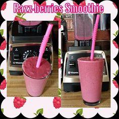 Forgot to post my breakfast smoothie on here.  Razz-berries Smoothie  1 cup coconut water  1/2 cup Greek coconut milk yogurt  1/2 cup frozen raspberries  1/2 cup frozen cherries  3 frozen strawberries  1 tsp acai berry powder  1 tsp flax seeds  2 tsp chia seeds  Blend in Vitamix and enjoy!  #Vitamix #vegan #healthy #plantbased #dairyfree #fruit #superfoods #acai #berries #cherries #sodeliciousyogurt #so_delicious #godairyfree #dairyfreelife #healthyinhealthyu #plantstrongvegan #plantstrong…