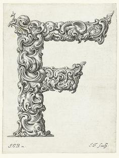 Letter 'F' (Jan Chrystian Bierpfaff + Jeremiasz Falck, 1656) by peacay, via Flickr