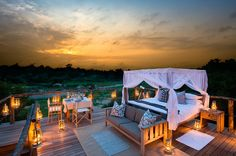 A Treehouse Night at the Lion Sands Private Game Reserve | Luxury Hotels Travel+Style