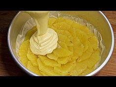 🍍 Ak máte radi ananás, do tohto koláča sa zbláznite! # 611 - YouTube Pasta Cake, Pineapple Cake, Sweet Recipes, Fun Recipes, Muffin Recipes, Cupcake Cookies, Just Desserts, Deserts, Good Food