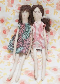 leah reena: Rag Dolls
