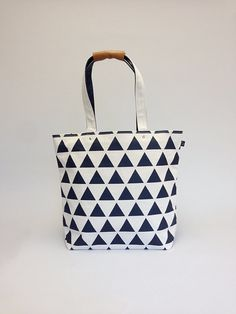 Great travel tote from Japanese canvas
