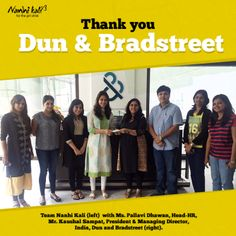 Nanhi Kali thanks Dun & Bradstreet India for supporting girl child education by organizing a fundraiser for Nanhi Kali through the 'Do Good Week' initiative!