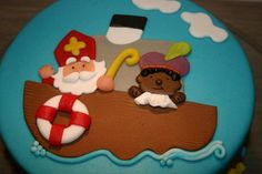 Lekker Sint en Piet taartje! (Die schattige van de kleurplaat!)