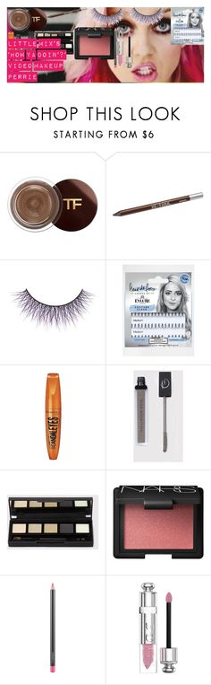 """Little Mix's 'How Ya Doin'?' Video Makeup PERRIE"" by oroartye-1 on Polyvore featuring beauty, Tom Ford, Urban Decay, eylure, Rimmel, NARS Cosmetics, MAC Cosmetics and Christian Dior"