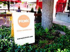 Picnic Sandwiches in Salt Lake