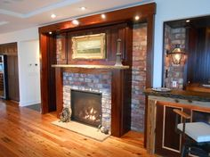 Like to add a fire place