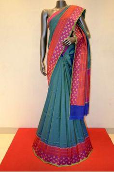 Exquisite Hand Woven Banarasi Summer Silk Saree         Product Code: AA212316