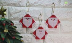 산타클로스 할아버지 종이접기 흰수염 산타클로스 접기 : 네이버 블로그 3d Paper Crafts, Diy And Crafts, Arts And Crafts, Christmas Crafts, Merry Christmas, Christmas Ornaments, Easter Eggs, Advent Calendar, Book Art