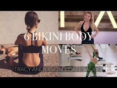 TRACY ANDERSON X CATT SADLER || 6 Bikini Body Moves - YouTube