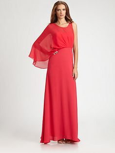 Saks bcbg eleanora gown - kinda love this