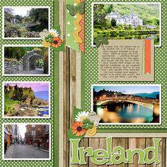 Bucket+List:++Ireland - Scrapbook.com