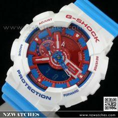 ab14c0f8e34a Casio G-Shock 200M Super Illuminator Purple White Limited Watch GD-120CS-6