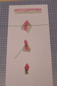 from the tool shed: Tutorial for Ribbon Flower Bud