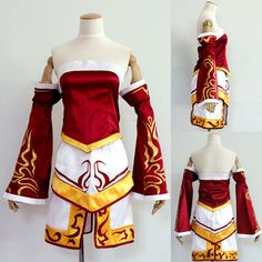League of Legends LOL Ahri Cosplay Costume