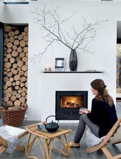 Firewood Winter Cottage