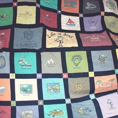 Life is good® : Good Vibes  I'd love to have a blanket like this