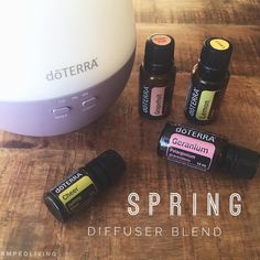 It's officially spring!!! Even though I got like 4 hours of sleep I am so excited to greet the day! Winter is over and spring is here!! I'm diffusing this fresh and cheerful blend to celebrate! My house smells like spring blossoms!  • 3 drops Lemon 3 drops Grapefruit  2 drops Geranium  2 drops Cheer • Hands up if you're excited to welcome spring into your cold winter heart.