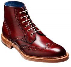 Barker Butcher Cherry. Gorgeous, gorgeous, gorgeous. - buy mens dress shoes online, discount mens shoes, cheap mens dress shoes