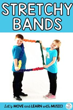 "Get some Stretchy Band activity ideas from this blog post! ""WHO MATTERS?"" ACTIVITY helps students learn that everyone matters. Relate to communication in a group, how to share, and accept responsibilities. ""WHO'S UP? WHO'S DOWN?"" ACTIVITY helps students understand teamwork. #singplaycreate #musicclassresource  #musiceducation  #elementarymusiced  #musiced  #elementarymusiceducation  #musicandmovement #movementactivities #MusicEducationActivities  #stretchybandactivities"