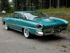 1961 Dodge Super D/500.  It's almost more than the eye can take in all at once.