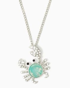 charming+charlie+|+Opalescent+Crab+Necklace+|+UPC:+410006766228+#charmingcharlie