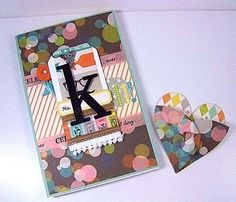 Starlitstudio - tutorial for notebook & earrings gift set