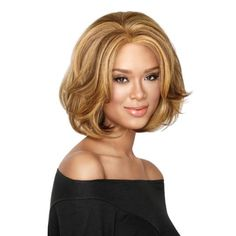 Buy 3 Types Hot High Quality Female Lady Wavy Curly Short Light Brown Natural & Soft Short Full Hair Wigs Girl's Stylish Wigs Wavy Wigs Hair Stylish Short Wigs at Wish - Shopping Made Fun Mens Medium Length Hairstyles, Short Bob Hairstyles, Wig Hairstyles, Hairstyle Short, Girl Short Hair, Short Curly Hair, Curly Hair Styles, Short Wigs, Curly Wigs