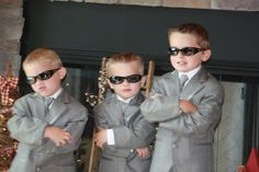 Jr Groomsmen looking handsome!