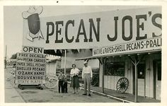 AR, Texarkana, Arkansas, RPPC, Pecan Joe's Shop, Pecan Joes Gift Shop