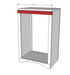Ana White | Build a Wood Tilt Out Trash or Recycling Cabinet ...