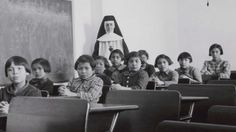 Canada confronts its dark history of abuse in residential schools Landmark report reveals school system's brutal attempt to assimilate thousands of native children for more than a century and gives voice to survivors Canadian History, American History, Indian Residential Schools, Aboriginal Language, Native Child, Ontario Curriculum, Aboriginal People, Aboriginal Children, Aboriginal History
