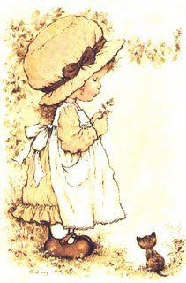 32 Illustratoren – Sarah Kay – vol 31073 Sarah Key, Decoupage Vintage, Vintage Art, Sarah Kay Imagenes, Dibujos Cute, Holly Hobbie, Illustrations, Love Painting, Art Portfolio