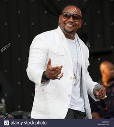 July 12, 2012 - Philadelphia, Pennsylvania, U.S - R&B singer, AVANT, performing live at the opening night of the Dell Music Center. (Credit Image: © Ricky Fitchett/ZUMAPRESS.com) Stock Photo