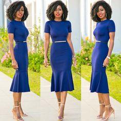 @loft324 Frill Hem Midi Dress.  Click link in bio for more 'fit details.