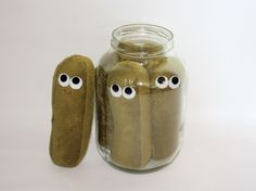 Dill Pickle - Plush Food