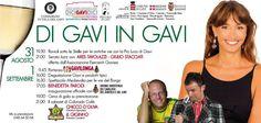 31 AGOSTO - 1 SETTEMBRE  DI GAVI IN GAVI  Come and join us!!!!