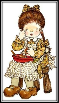 363 best sara kay illustrations images in 2016 Sarah Key, Sunbonnet Sue, Holly Hobbie, Beatrix Potter, Mary May, Crochet Doily Patterns, Doilies Crochet, Illustrations, Cute Illustration