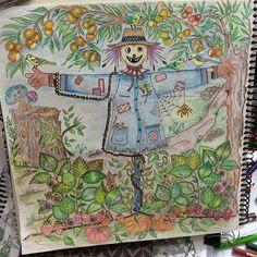 Instagram media juliasnf - 2dias ,trabalheira mas gostei ! #artistasdeplantão #jardimsecreto#jardimcolorido #johannabasford #jardimsecretotop #jardimsecretoinspire #florestaencantadatop #inspiracaojardimdecreto #livrojardimsecreto