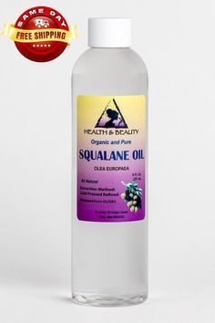 8 oz SQUALANE OIL ORGANIC Olive-Derived Anti-Aging Moisturizer Cold Pressed Undiluted Premium 100% P #BestFacialHairRemoval Hair Removal Diy, At Home Hair Removal, Hair Removal Cream, Remove Unwanted Facial Hair, Unwanted Hair, Brown Spots On Hands, Dark Spots, Electrolysis Hair Removal, Hair Removal Machine