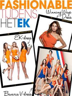 2012:   Het jaar van 3 verschillende EK-jurkjes in Nederland!