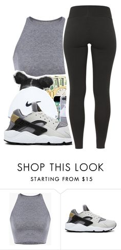 """Untitled #281"" by mindset-on-mindless ❤ liked on Polyvore featuring beauty and NIKE"