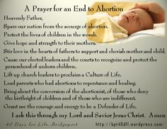 Now choose life, so that you and your children may live.  (Deuteronomy 30:19)