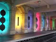 London Subway (Gloucester Road station)