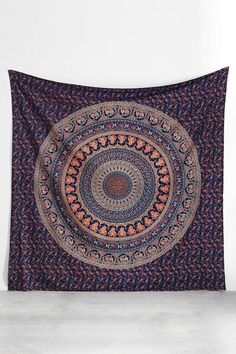 Home Textile 180x230cm Sea Wave Printed Mandala Tapestry Yoga Mat Wall Hanging Decoration Bedroom Living Room Table Couch Cover Beach Towel